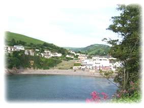 View of Combe Martin Beach